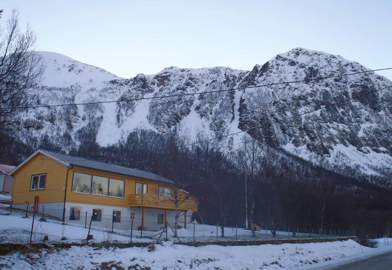 Høgfjellet (Kasfjordrenna) 615 moh fra Toppturer rundt Harstad.