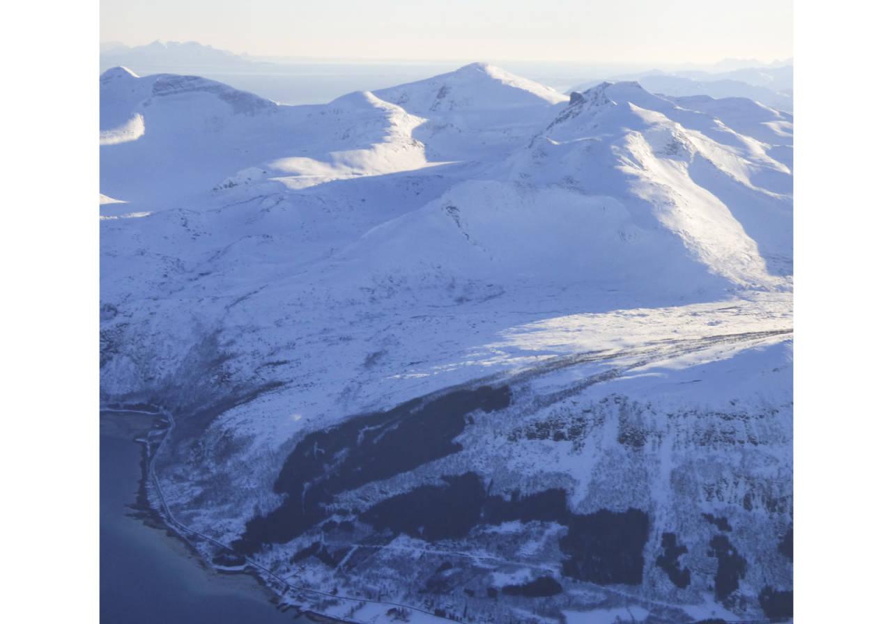 Jotind 980 moh fra Toppturer rundt Harstad