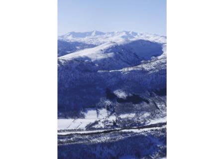 Kaltdalen 422 moh fra toppturer rundt Harstad