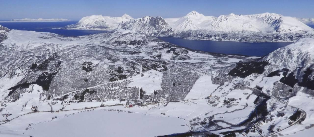 Keipen 487 moh. Topptur i Harstad.