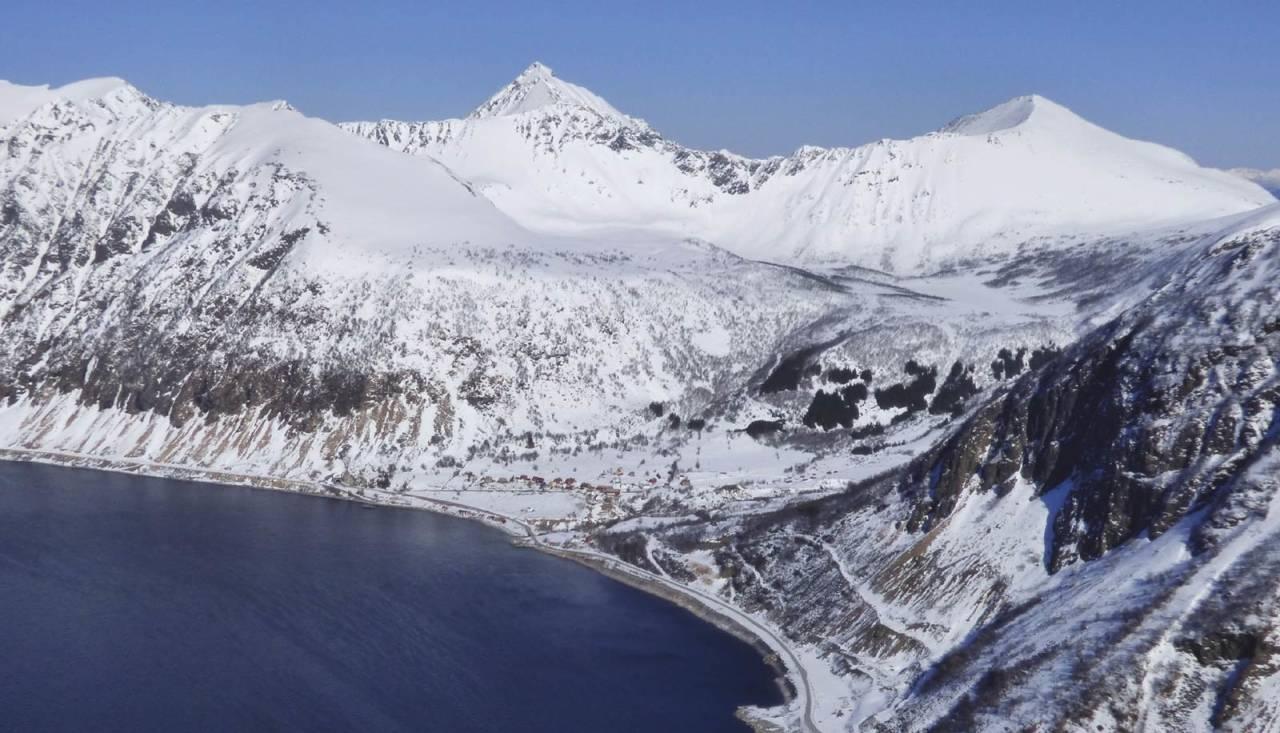 Litletussen 796 moh fra Toppturer rundt Harstad