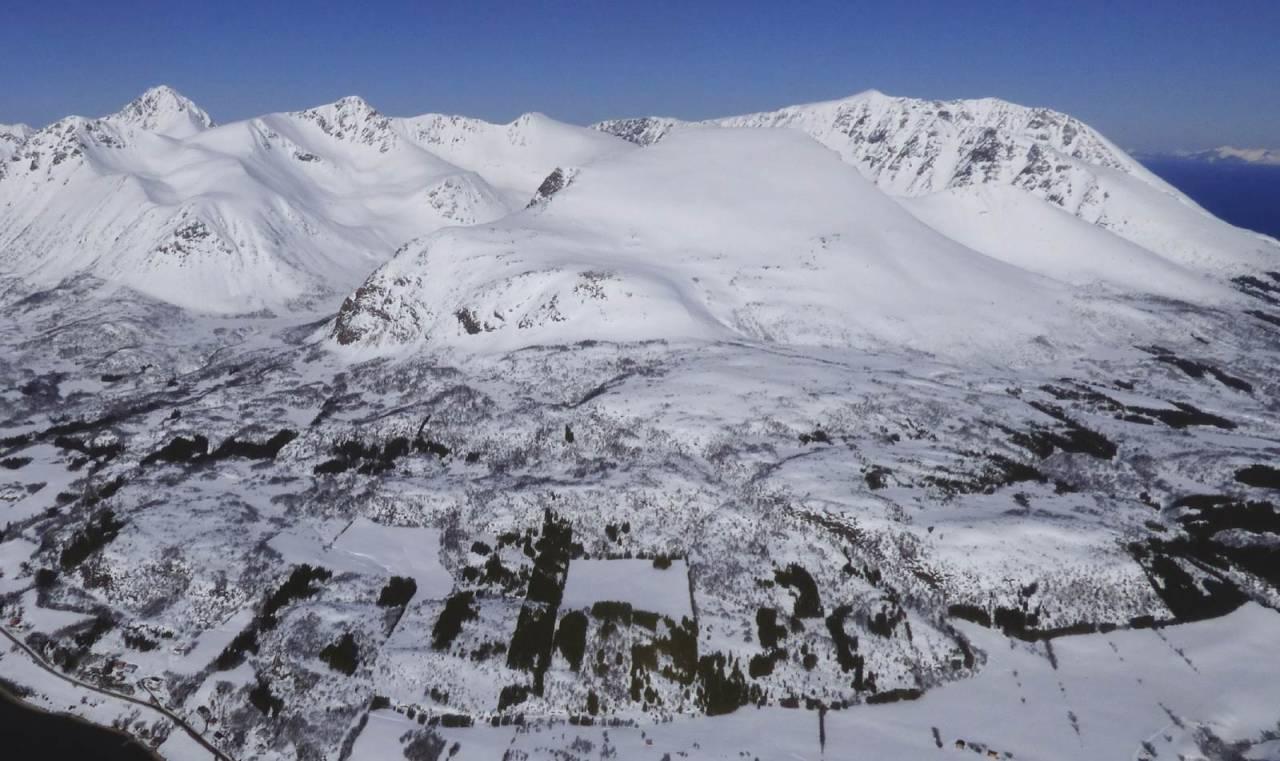 Lundenesgalten 782 moh fra Toppturer rundt Harstad