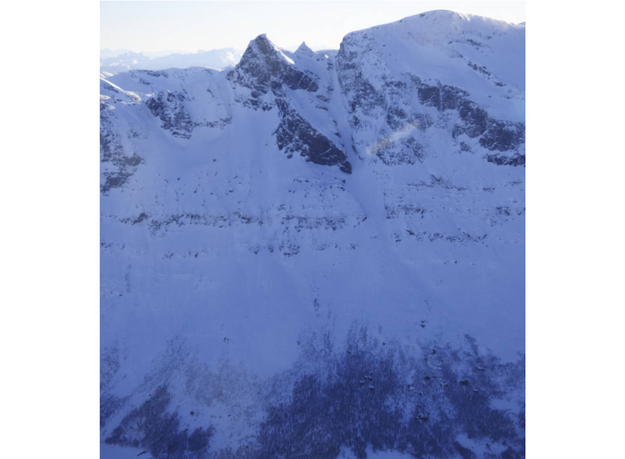 Novatinden 1211 moh fra Toppturer i Harstad