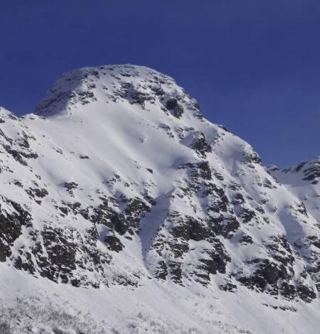 Ristinden 1055 moh fra Toppturer rundt Harstad