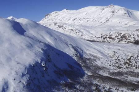 Siriskolten 658 moh fra Toppturer rundt Harstad