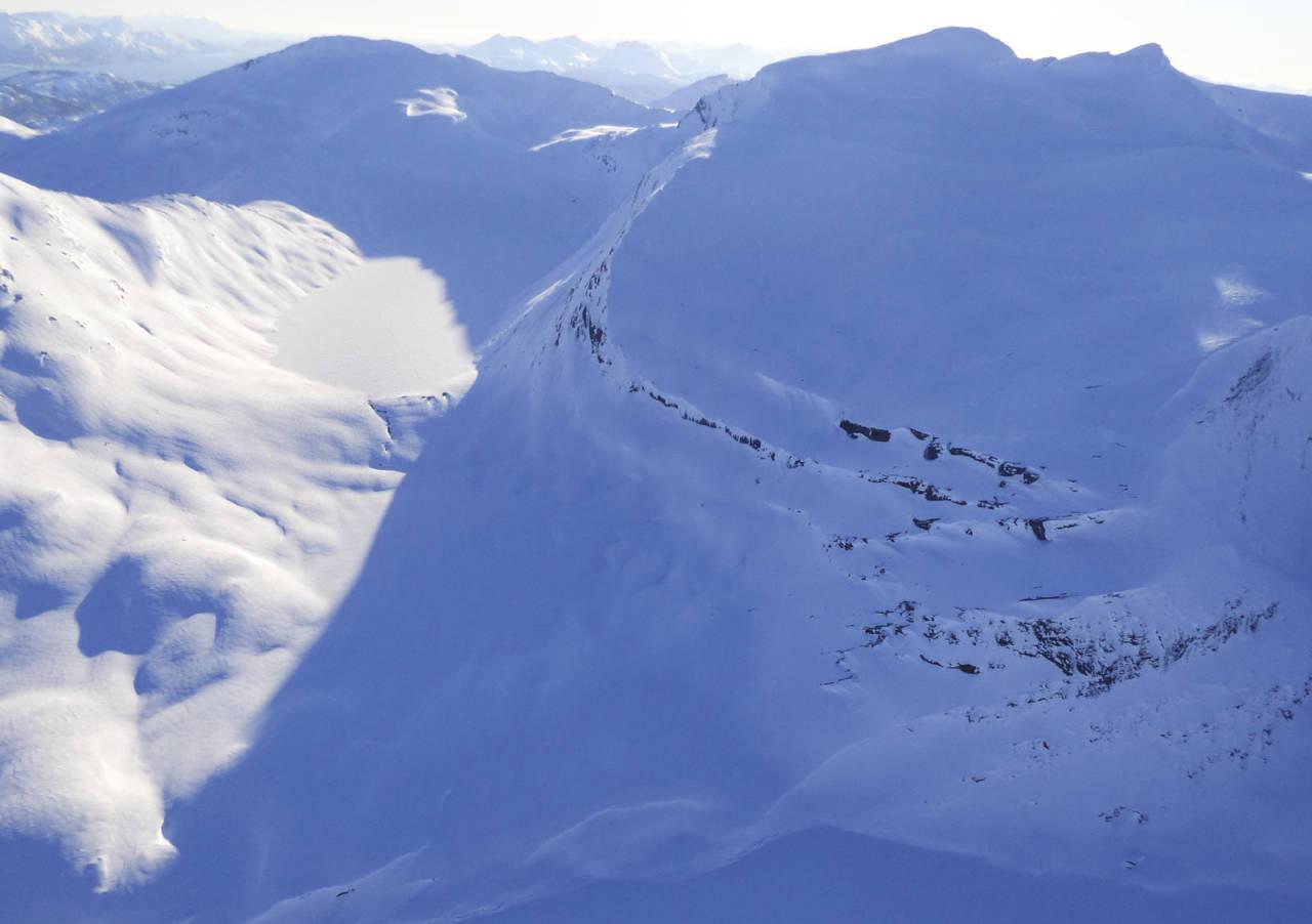 Skittendalstinden 1306 moh fra Toppturer rundt Harstad