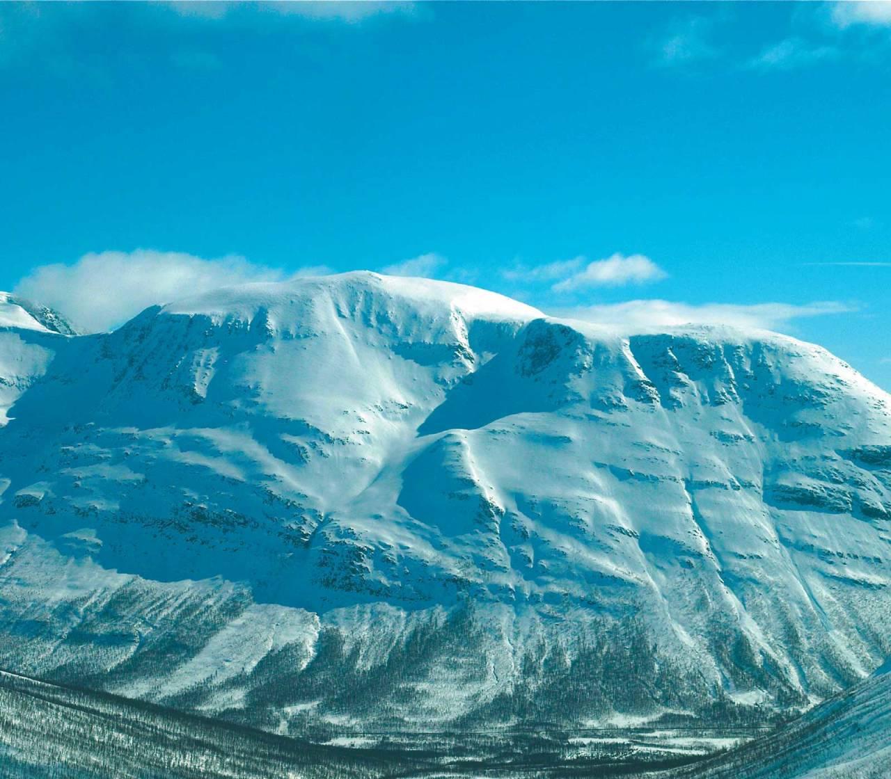 Foto: Aadne Olsrud. / Toppturer i Troms.