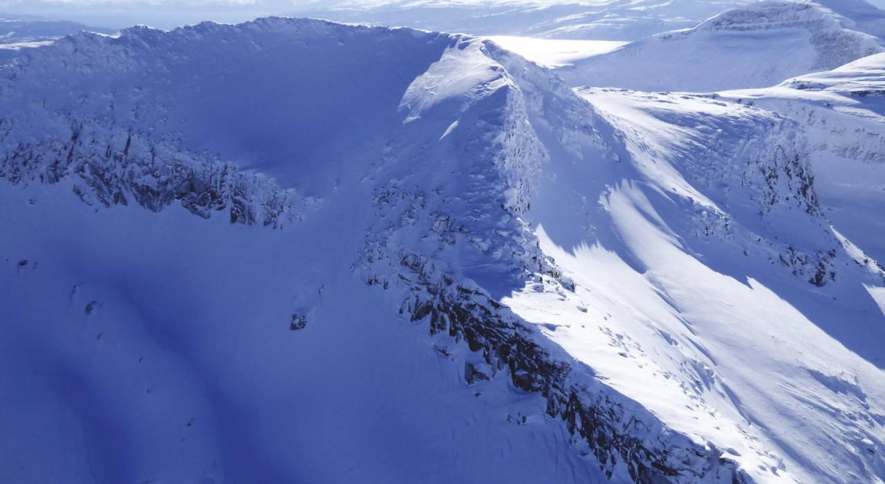 Bildet viser nordsiden av Stampen