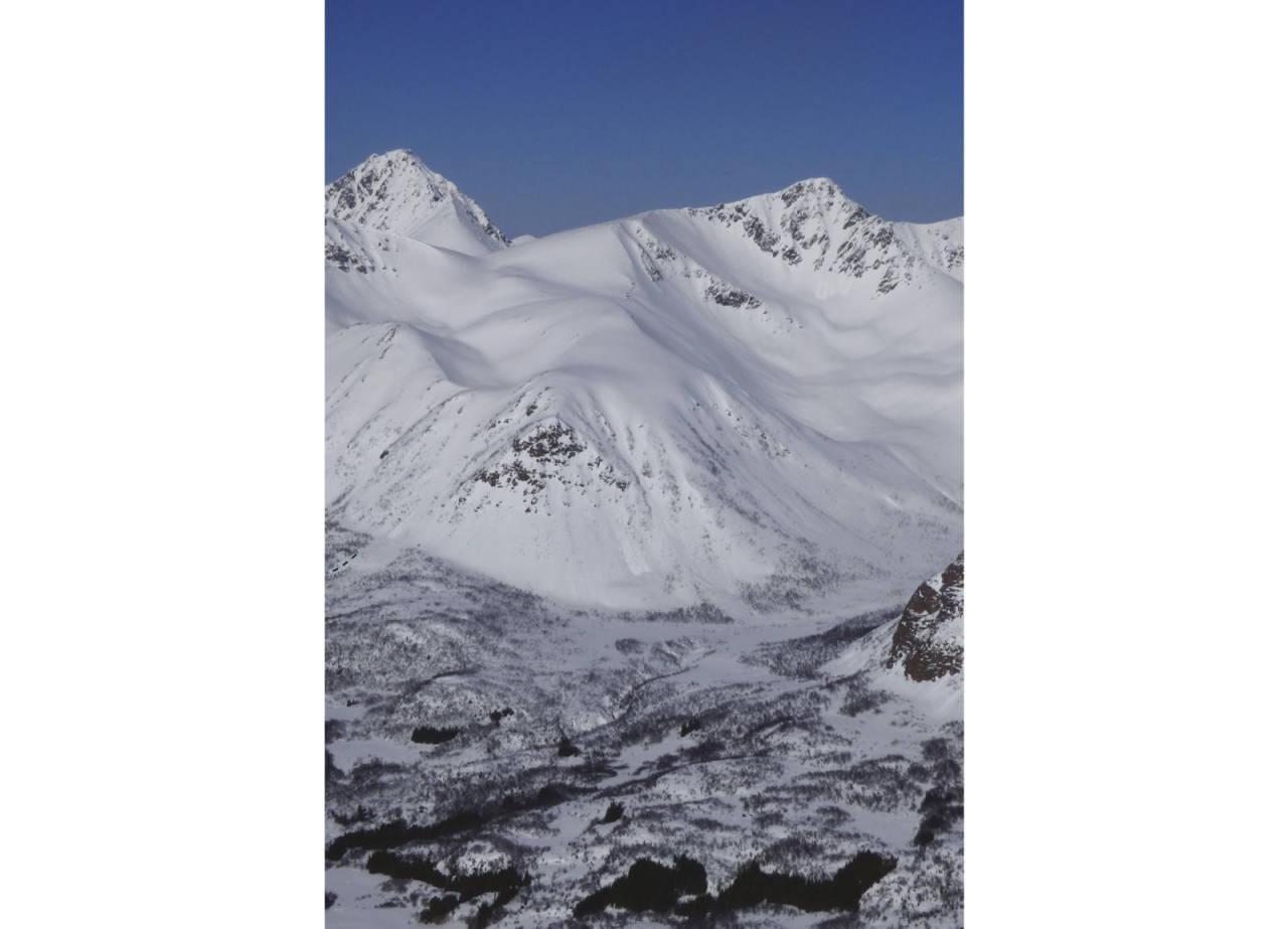 Trolltinden 919 moh fra Toppturer rundt Harstad