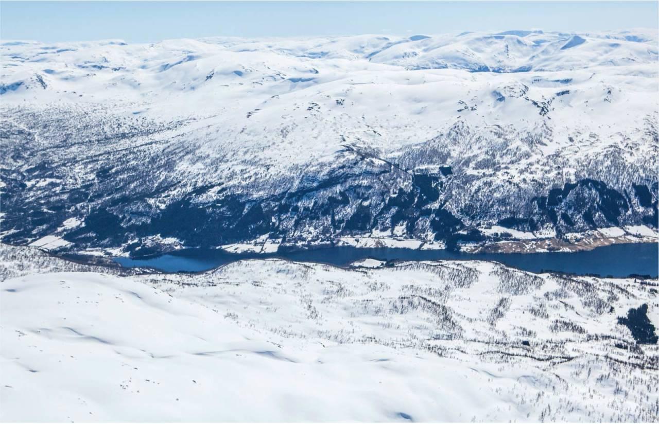 Slettind sett fra nord. Foto: Espen Schive. / Trygge toppturer.