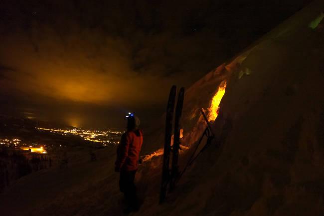 Slik kjører Robert Aaring på ski under koronakrisen