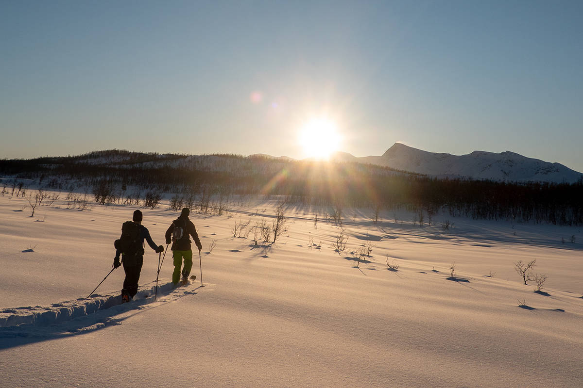 TUR: Eivind Aanensen fikk en fin tur til Isskardtindane. Foto: Eivind Aanensen