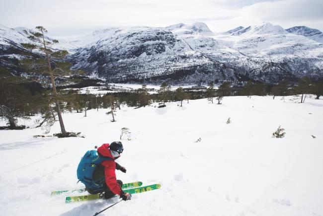 Todalen på Nordmøre - noen av landets fineste toppturfjell