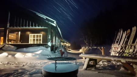 Skredkurset med base på Skallstuggu i Innherred ble en innertier, mener kurslederen. Foto: Tommy Aslaksen