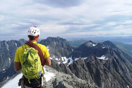 Ersfjordtraversen rekord Eivind Wergeland Jacobsen