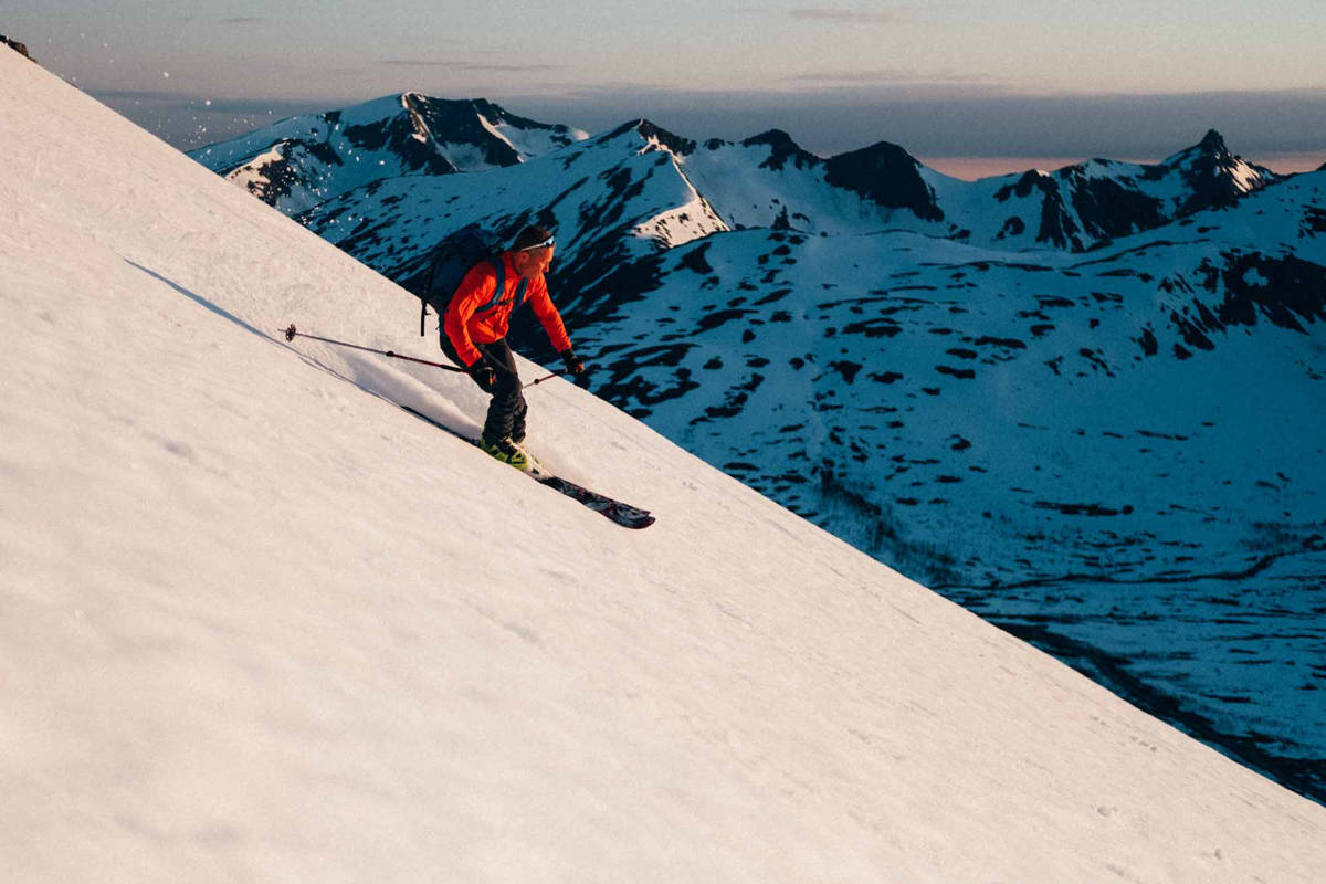 FIN SKIKJØRING: Tromsø har slått snørekorder i år, og har fremdeles mye god snø igjen. Foto: Sjur Melsås