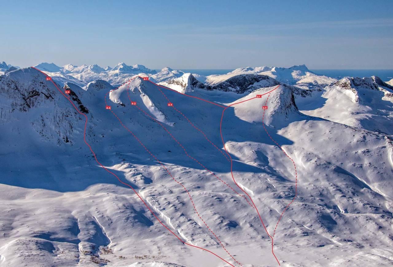 Fra Toppturer rundet Bodø.
