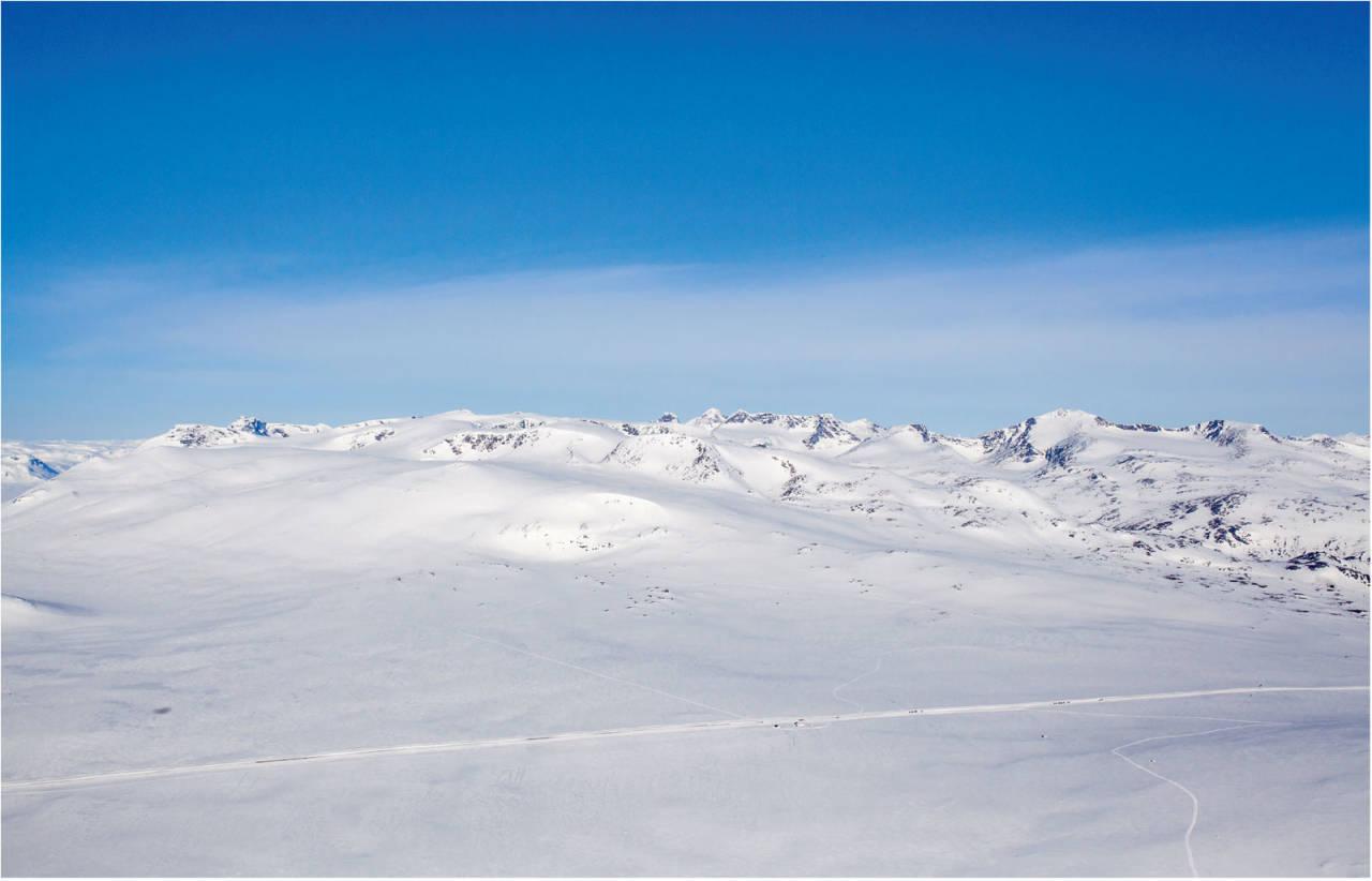 Rasletinden sett fra sør. Foto: Marte Stensland Jørgensen. / Trygg topptur