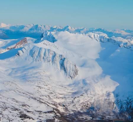 Foto: Sture Willumsen. / Toppturer i Troms.