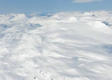 Nævertind fra sørøst. Foto: Rune Dahl / Toppturer rundt Narvik.