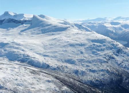 Rånkeipen fra øst. Foto: Rune Dahl / Toppturer rundt Narvik.