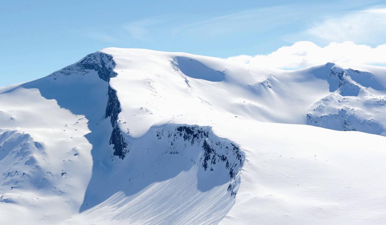 Sandviktinden fra nordøst. Foto: Rune Dahl / Toppturer rundt Narvik