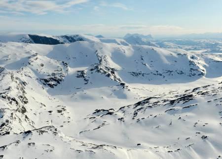 Geargečorru fra øst. Foto: Rune Dahl / Toppturer rundt Narvik.