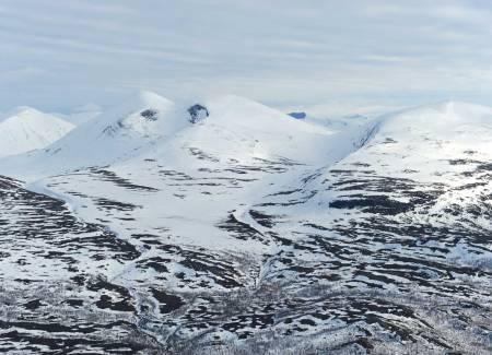Giron fra nord. Foto: Rune Dahl / Toppturer rundt Narvik.