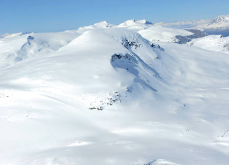 Storriten fra sør. Foto: Rune Dahl / Toppturer rundt Narvik.