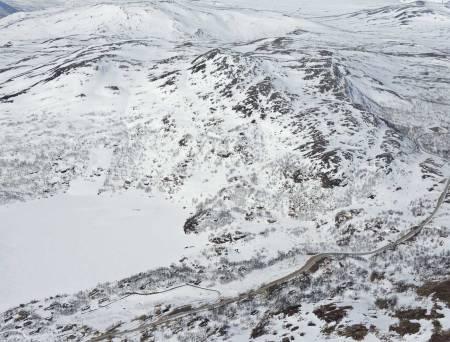 Nonshøa sett fra øst. Foto: Ludvig Killingberg. / Trygge toppturer.