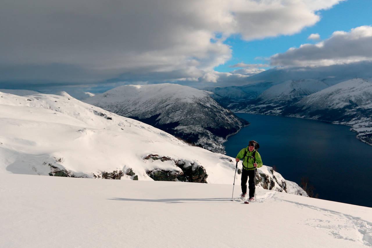 Foto: Anne Cecilie Kapstad. / Toppturar i Sunnfjord.