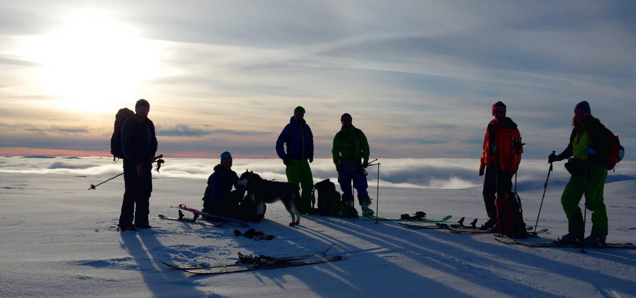 Grovabreen. Foto: Brit Siv Fimland. / Toppturar i Sunnfjord.