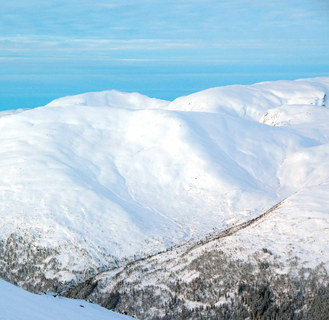 Foto: Brit Siv Fimland. / Toppturar i Sunnfjord.