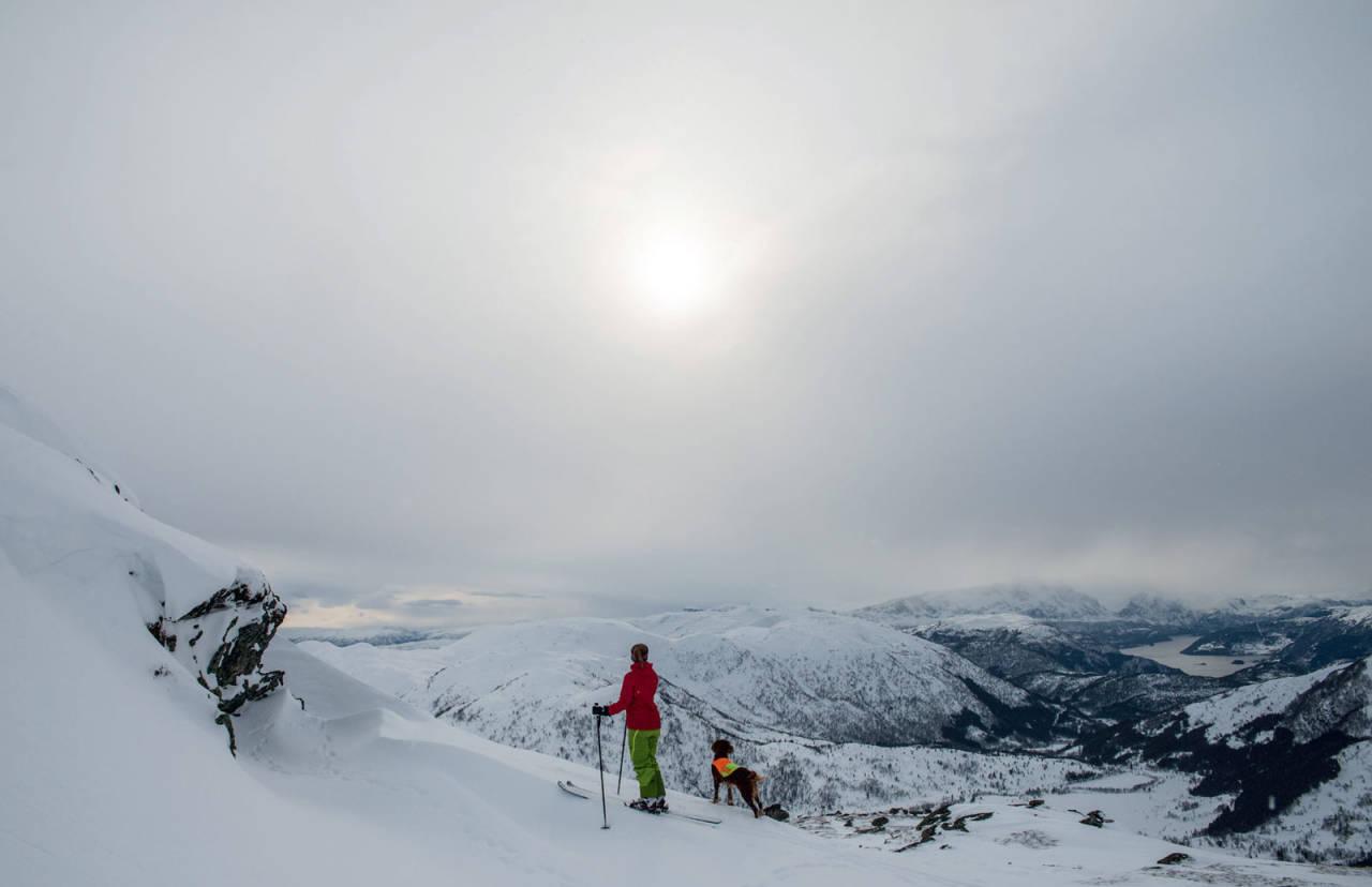 Foto: Eline Kirkebø. / Toppturar i Sunnfjord.