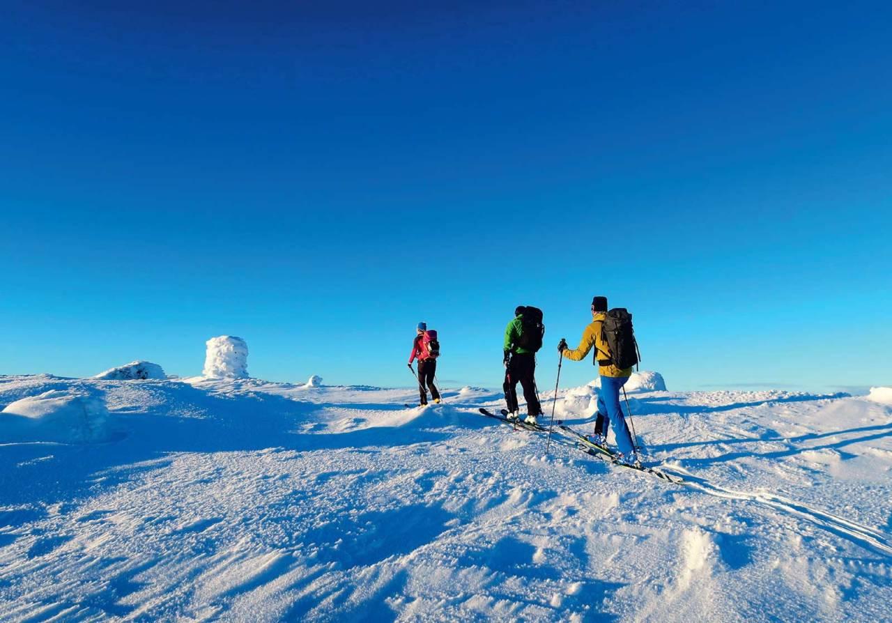 Foto: Sindre Hoff. / Toppturar i Sunnfjord.