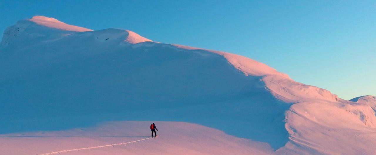 Foto: Janne Eikås. / Toppturar i Sunnfjord.