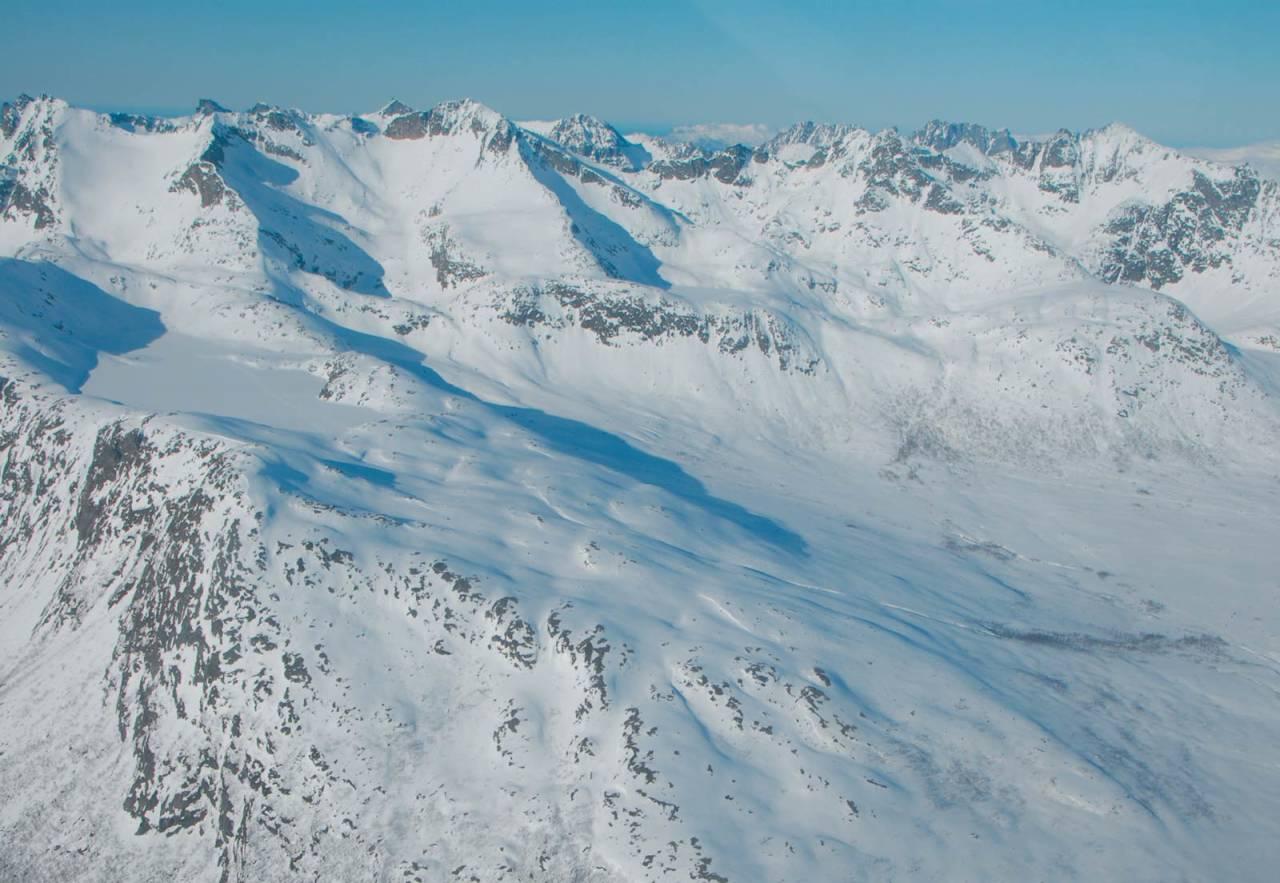 Fra Toppturer rundt Troms.