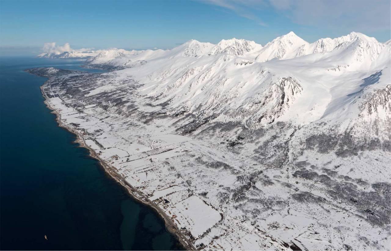Rundfjellet sett fra sørvest. Foto: Espen Nordahl. / Trygge toppturer.
