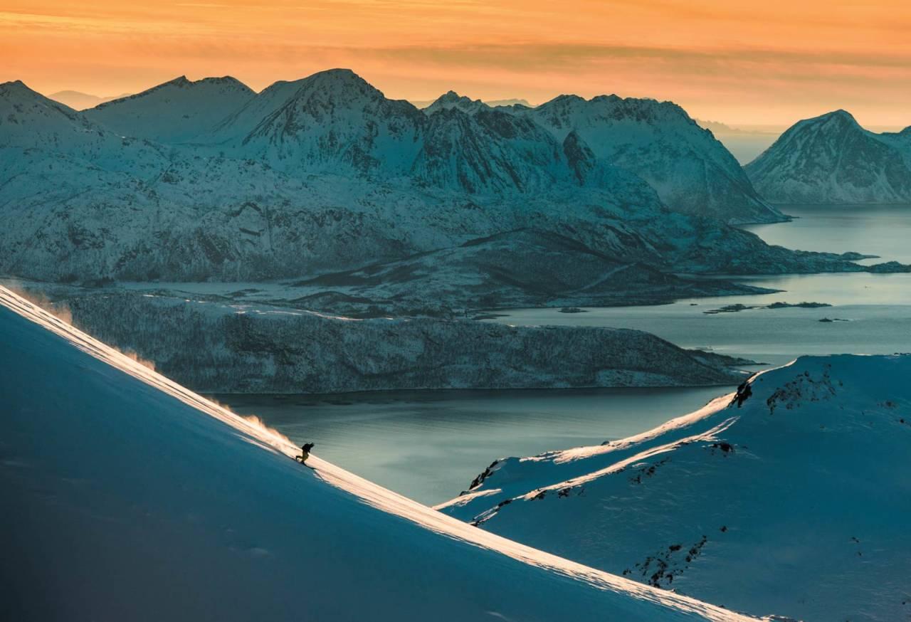 Foto: Bård Basberg. / Toppturer i Troms.
