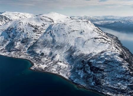Vassnestind sett fra nordvest. Foto: Jan R. Olsen. / Trygge toppturer.