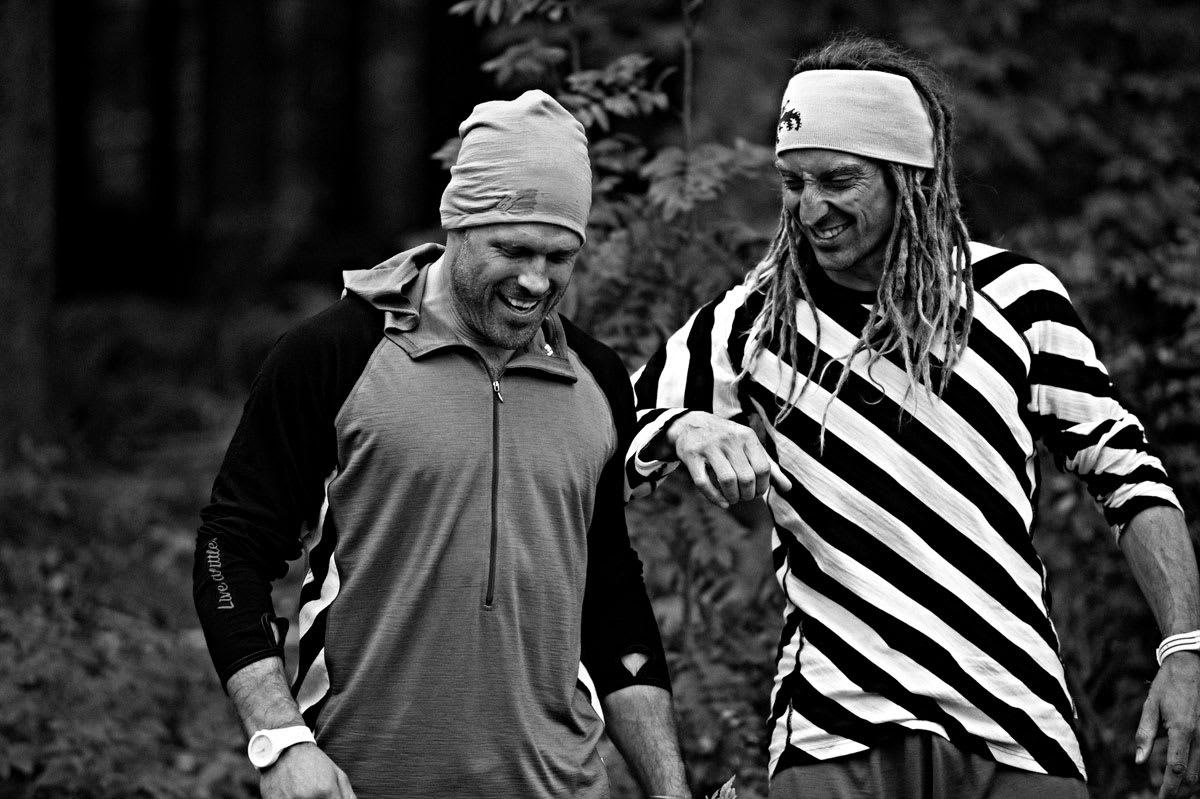 SVETTE KARER: Sverre Liliequist (til venstre) og Kaj Zackrisson vet hvilke forberedelser som gjelder for å være i storform når snøen kommer. Foto: Johan Wildhagen