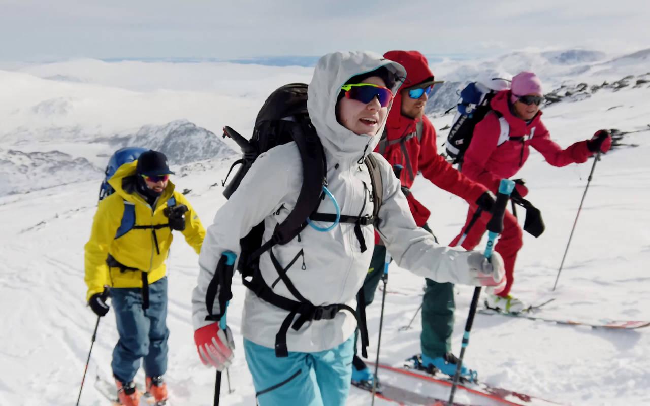 Første etappe av Høgruta i Jotunheimen går til Besshøe (2258 moh). Bilde: Christian Nerdrum