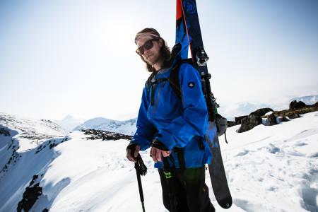 TOPPTHORSEN: Asbjørn har fått med seg Åsmund Thorsen i sesong 2 av Jakten på villsnøen. Bilde: Christian Nerdrum