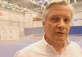 NORWEGIAN OPEN FAN: - Vi vil jobbe for Norwegian Open, sier Mikkel Berg.
