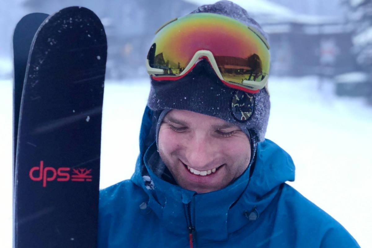 NY SKI: Dash Longe har designet nye DPS Koala 119 - og er i tillegg aktuell med ny skifilm. Se den her. Foto: DPS