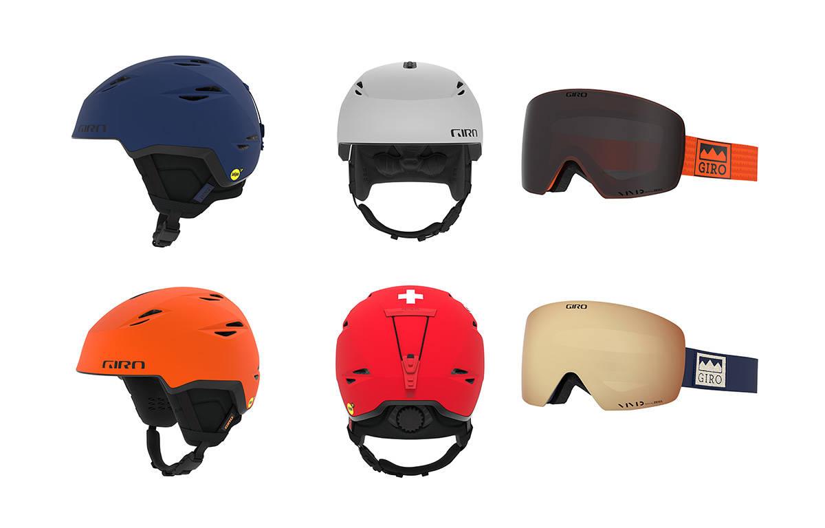 GIRO-NYTT: Ny toppturhjelm og nye goggles fra Giro neste sesong.