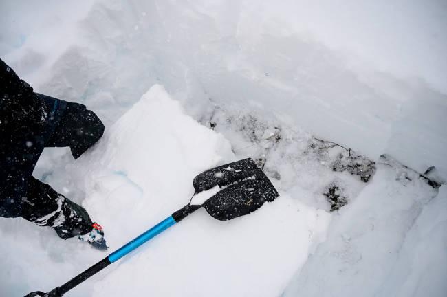 Har laget sikkerhetsstandard for snøskredspader