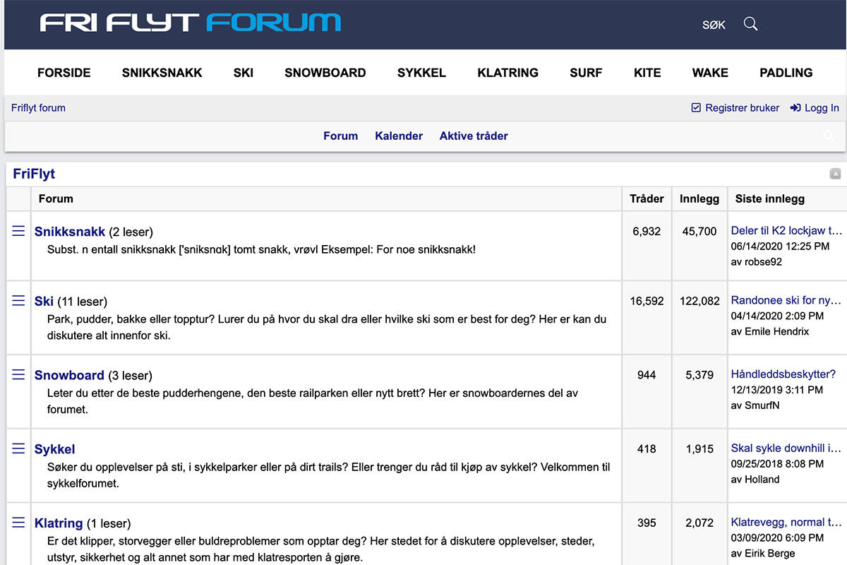 Fri Flyt forum