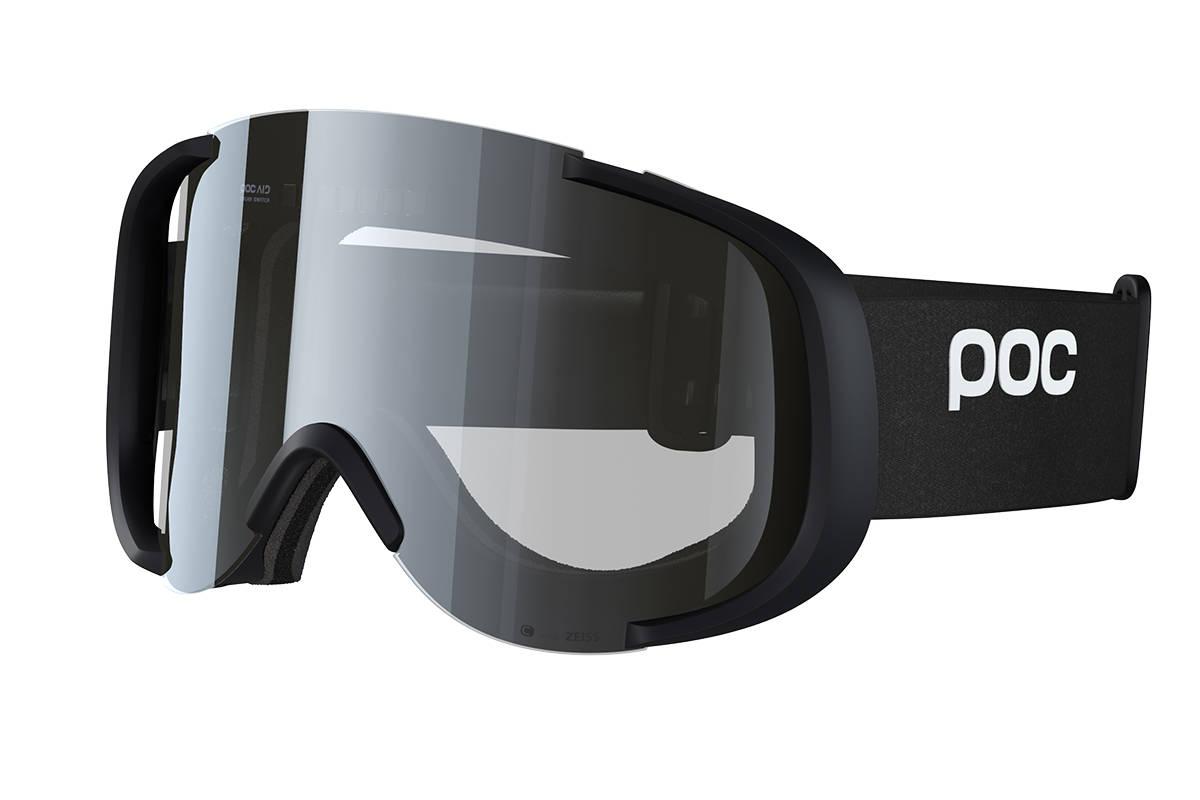 GOGGLE: Her er skibrillen som endrer linsen etter sollys. Foto: POC