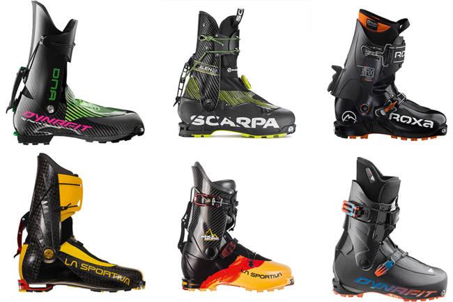 Seks nye superlette toppturstøvler